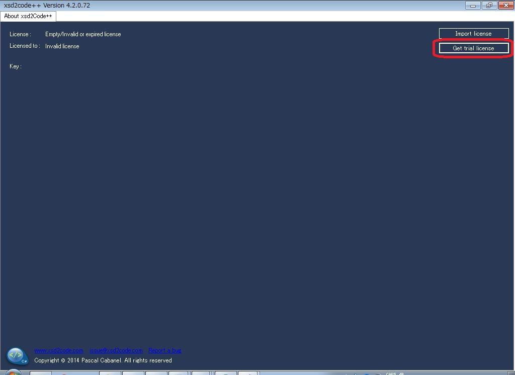 Xsd2CodeをVisual Studio Community 2017 にインストールしました